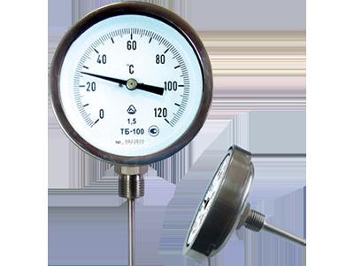 Купить термометр биметаллический